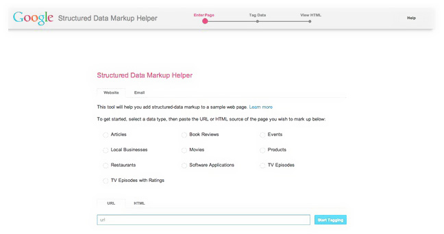 Googles structured data markup helper can help you achieve better search result ranking