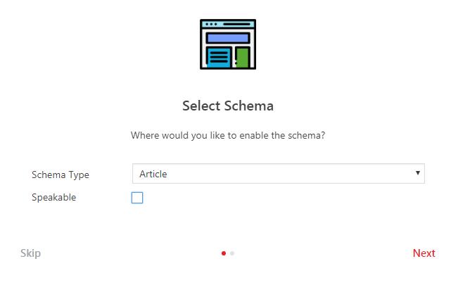 Structured Data Schema WordPress plugin