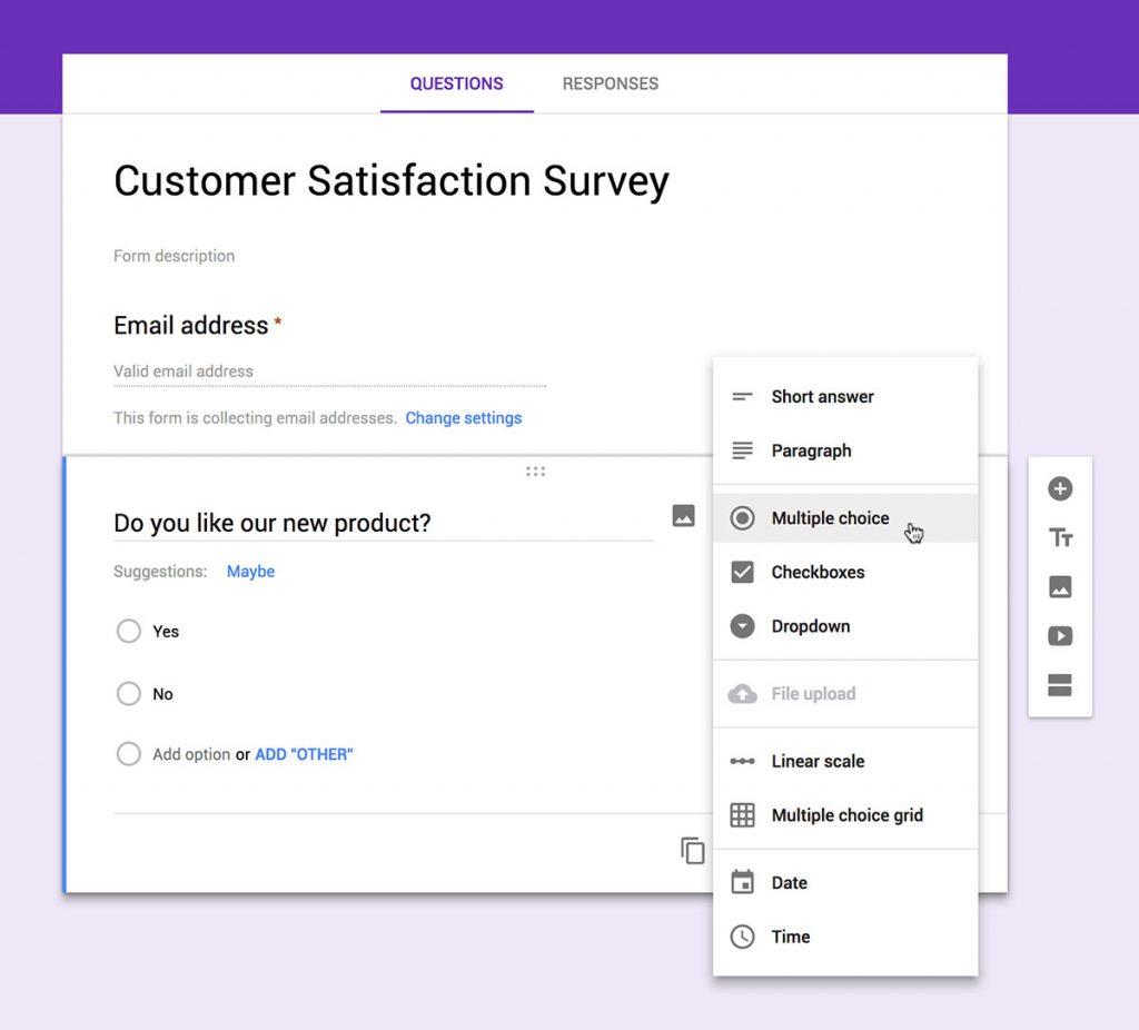 survey form is a great tool for finding good blog article idea