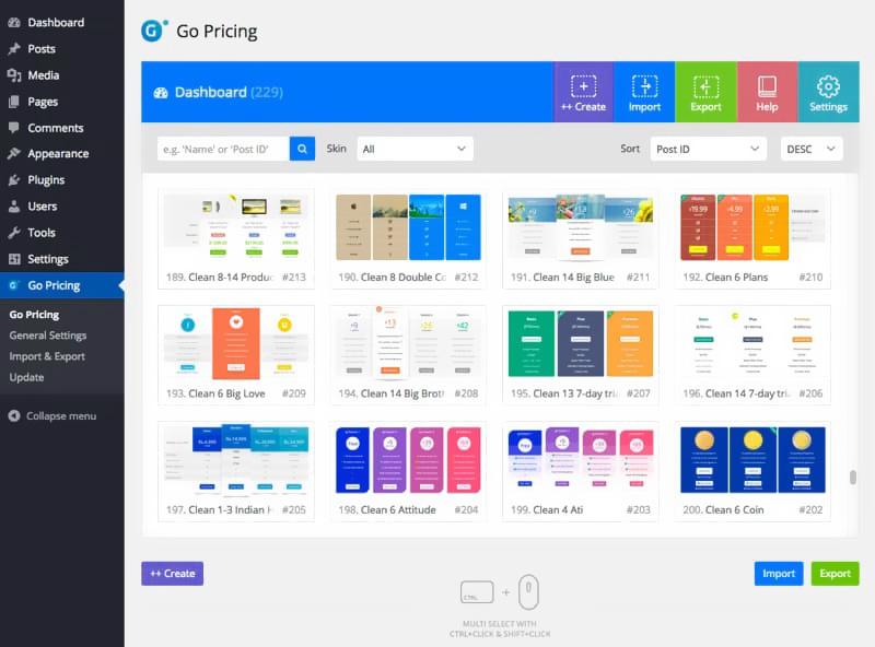 Go Pricing price comparison product comparison WordPress plugin