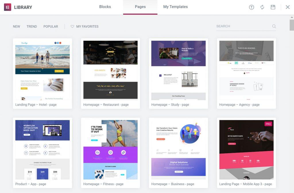 WordPress blog site examples
